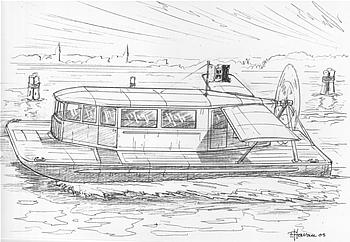 Celeste Soccol - Disegno di Franco Harraurer
