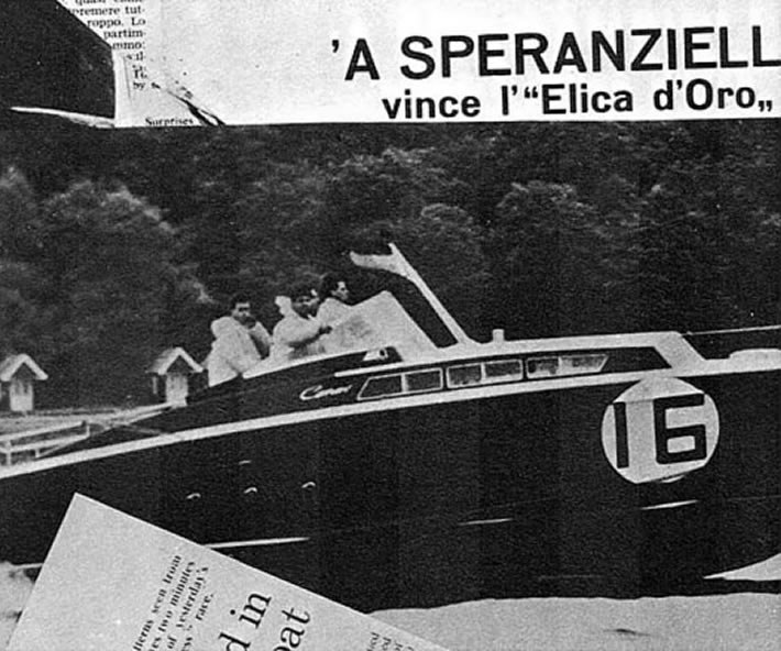Canav di Anzio: fantastica imbarcazione classica nominata Speranzella