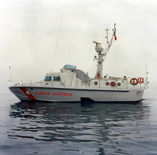 CP 230 Guardia Costiera Cantiere Canav-Anzio disegno Renato Levi