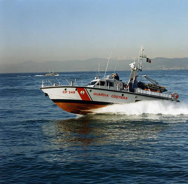 Motovedetta CP 248 Cantieri Canados - Ostia Lido