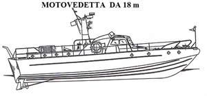 Moto vedetta Canav 18m