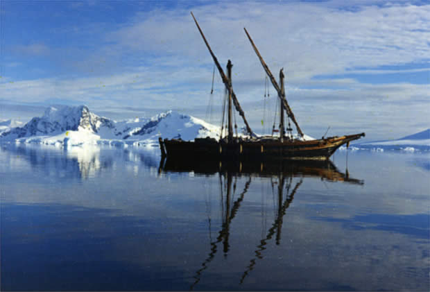 Feluca San Giuseppe Due - Apedizione in Antartide italiana