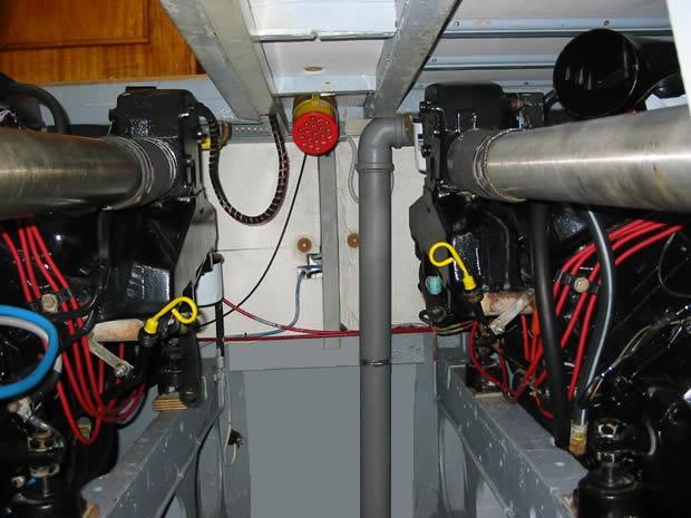 sala motori Mercruiser Speranzella