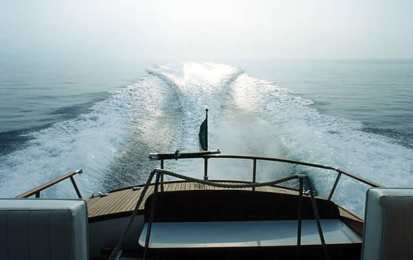 scia di poppa Speranzella barca d'poca