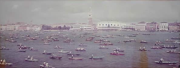 Prima Partenza della Vogalonga di Venezia - 1975