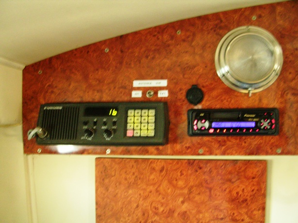 Pannello VHF e Sintolettorre CD AM FM