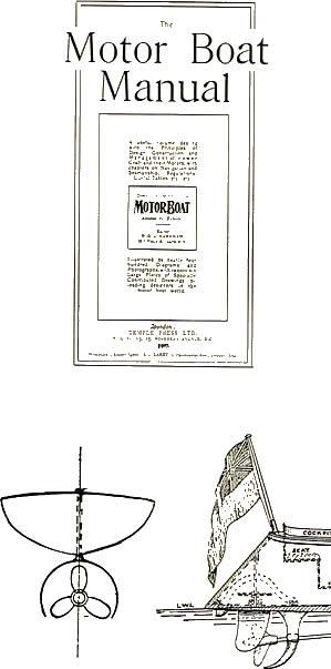 """La copertina """"The Motor Boat Manual del 1907?"""