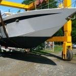 Squalo 43, barca classica realizzata su progetto di Franco Harrauer