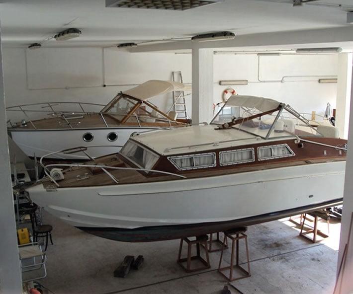 Restauro Barca Classica Levi, Settimo Velo CanavRestauro Barca Classica Levi, Settimo Velo Canav