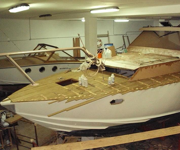 Restauro barche classiche e d'epoca