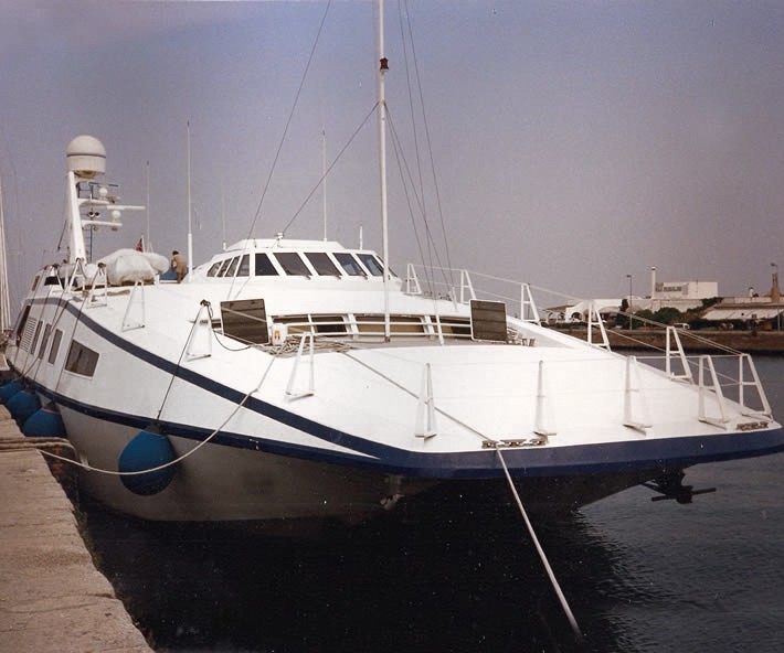 Catamarano Harrauer