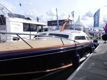 Levi Corsair 2013 al Southampton Boat Show