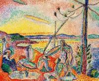 Henri Matisse dipinta tra il 1904 e il 1905