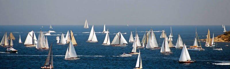 Saint Tropez gare barche d'epoca