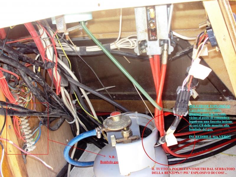 Restauro barche l 39 impianto elettrico seconda puntata - Colori dei fili impianto elettrico casa ...