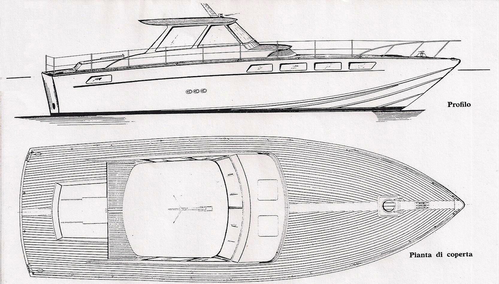 La mia barca la barca di renato sonny levi costruita for Piani di coperta in legno