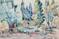 La-piece-d-eau-de-la-maison-de-Cezanne