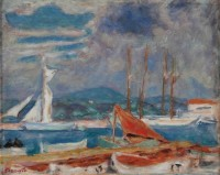 Pierre Bonnard Le port de Saint Tropez