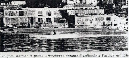 Varazze-1936-collaudo-primo-barchino-M.T.