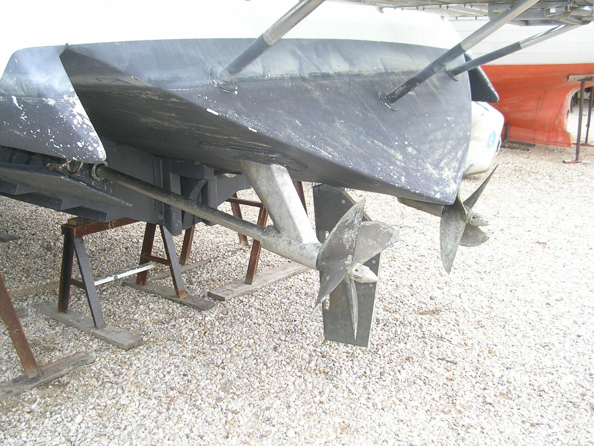 Drago Levi trasmissione step drive eliche di superficie