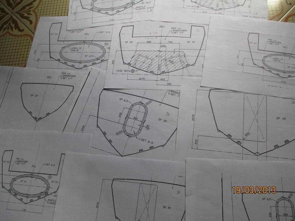 Modellismo costruzione motovedetta v2000 g di f for Piani di coperta in legno