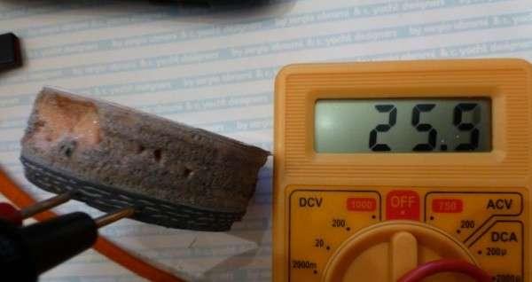 Test conducibilità carbonio b