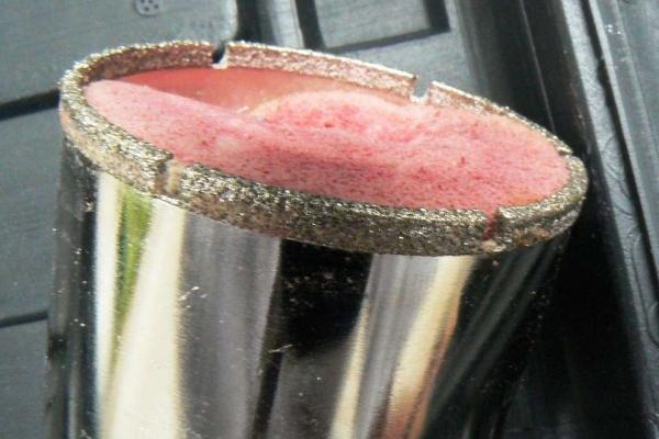 diamond cup drill diam 65 mm