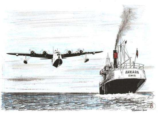 nave Ankara - ricognitore inglese