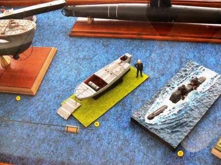 barchino esplosivo MTM - diorama MAS