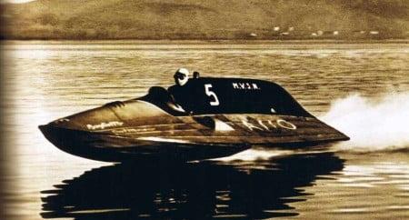 Baglietto Asso detentore del record mondiale di velocità nel 1933 con 133.82 kmh