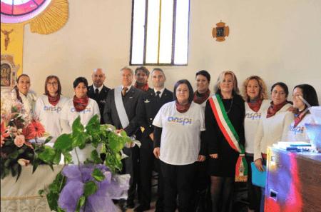 Gruppo con le coriste ANSPI