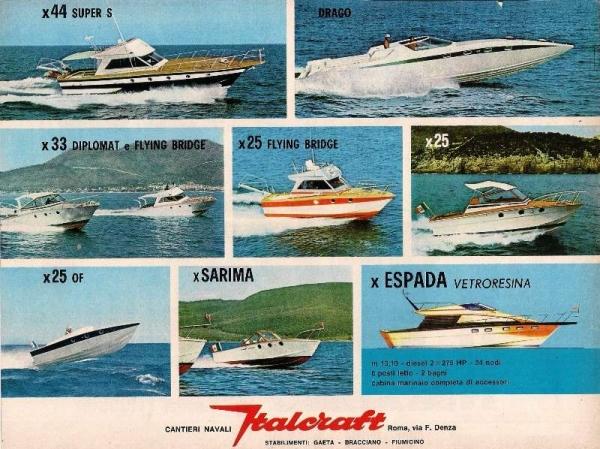 Italocraft della produzione pubblicità anni 70