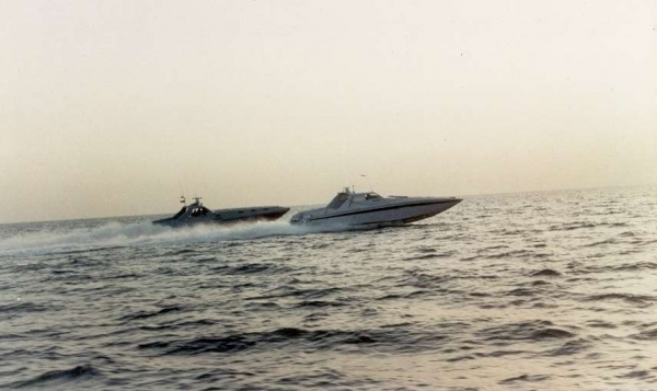 Inseguimento V1681 GdF - Mariolino