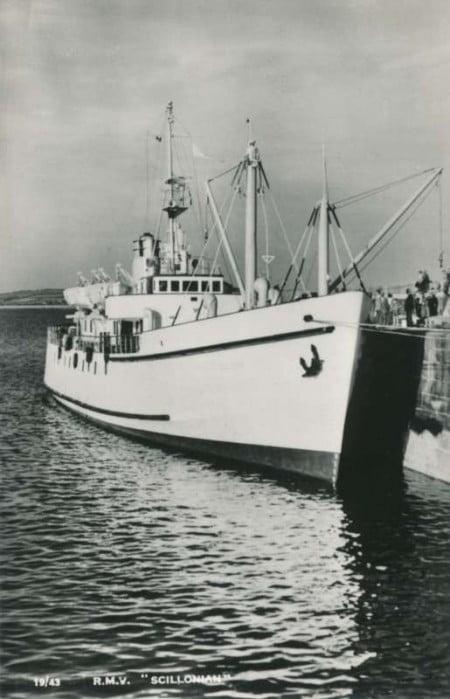 Scillonian 1956