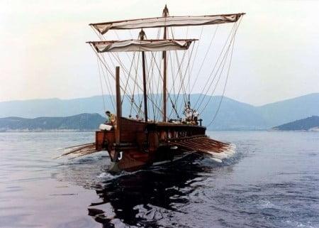 Greek Trireme d