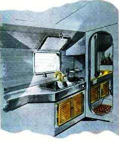"""Ilver-Italmarine """"Spazio 25"""" cucinino-bagno"""