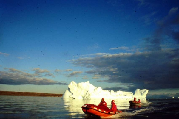 Spedizione 1994 navigazione