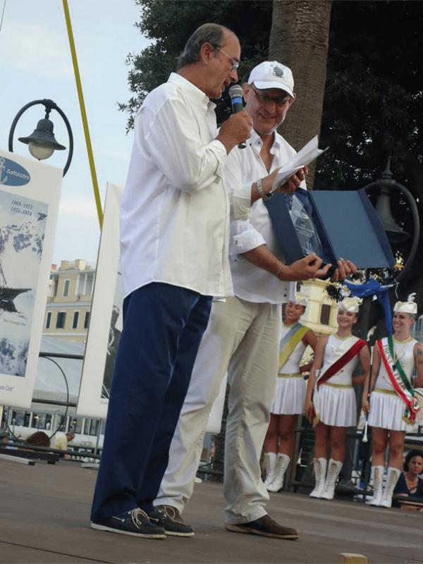 Mario de Grenet ed Andrea Cafà, presentazione del trofeo intitolato a Giovanni Ajmone Cat.