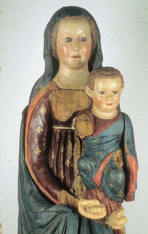 antica statua della Madonna di Barbana (precedente a quella attuale) probabile X! secolo