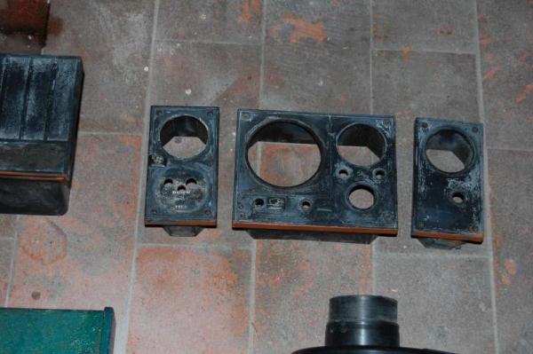 Telai in plastica strumenti controllo motore