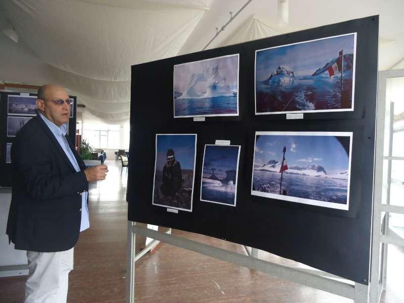 Andrea Cafà organizzatore della Mostra