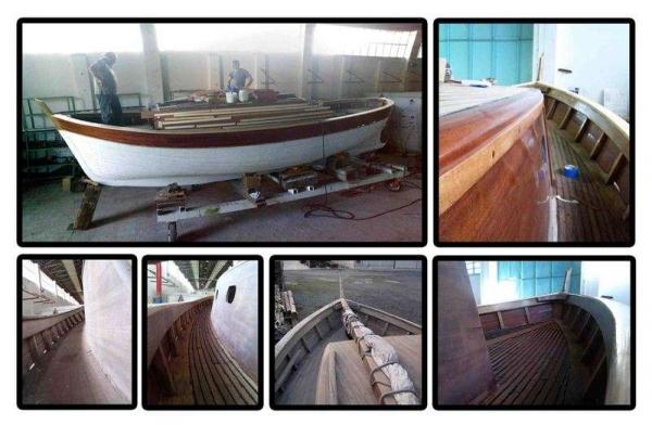 Gozzo pexino in vendita barca classica for Piani di coperta compositi