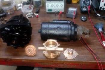 motorino avviamento - alternatore - pompa acqua di mare - fasi revisione