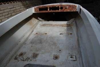 Particolare del pozzetto in restauro
