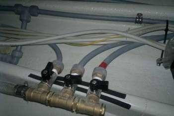 Drago V4000 chivi sezione impianto idrico