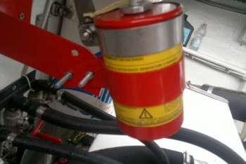 impianto antincendio vano motori