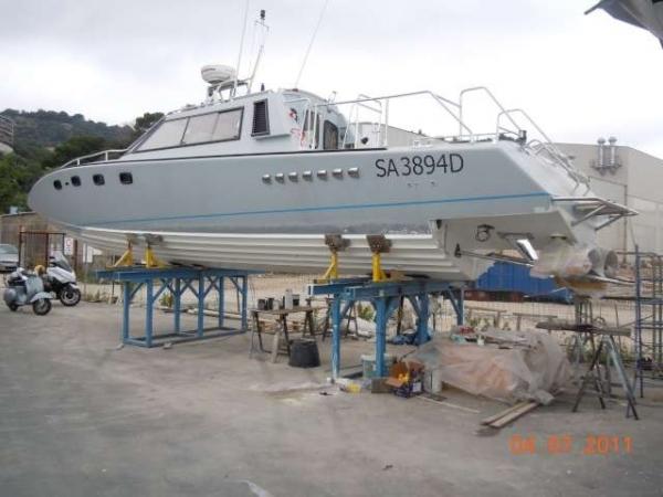 Drago barca classica trasmissione step drive