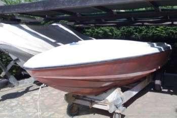 Barca d'epoca Sonny 318 originale senza armamento