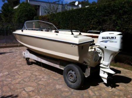 Sonny Vega 318 RO, barca d