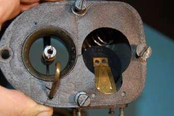 Carburatore Solex 44-8 - tubo Venturi - diffusore - vaschetta - galleggiante